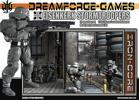 New in Stock! Wargames Factory Eisenkern Stormtroopers
