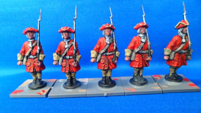 Paint scheme for British Troops