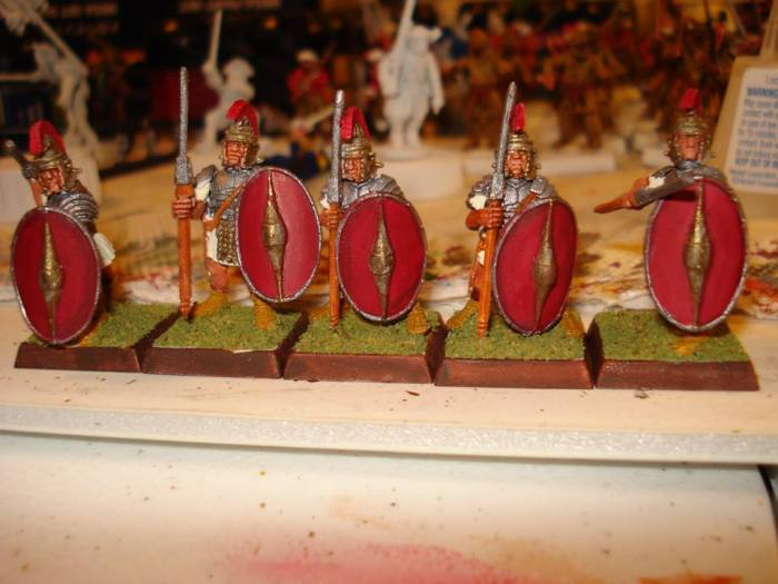 Some of Mantic Max's Praetorean Roman's