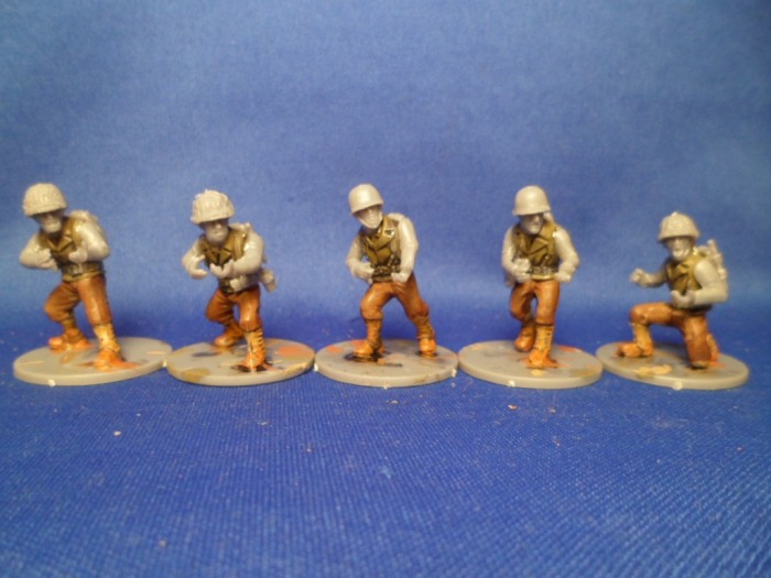 First 5 Bolt Action Americans Half Done